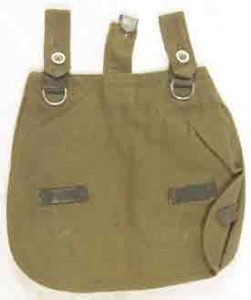 There were many styles of the bread bag over WWII. The early continental is the most universal.